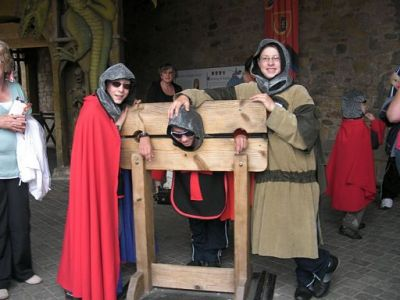 Medicine & Chernobyl children visit to Alnwick Castle